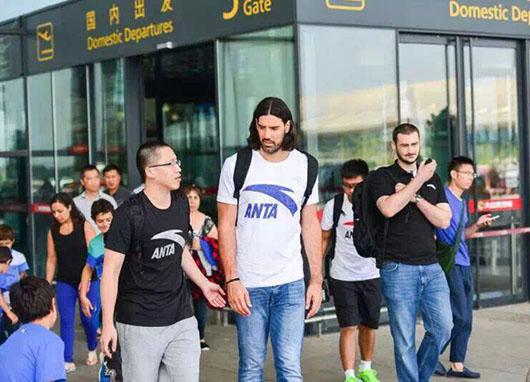 NBA斯科拉中国行接待